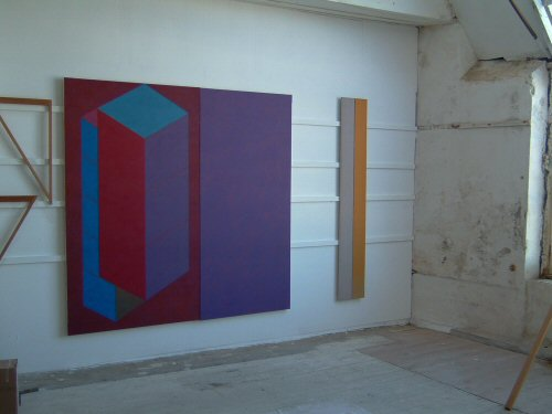 Painted Panel and Projected Pier